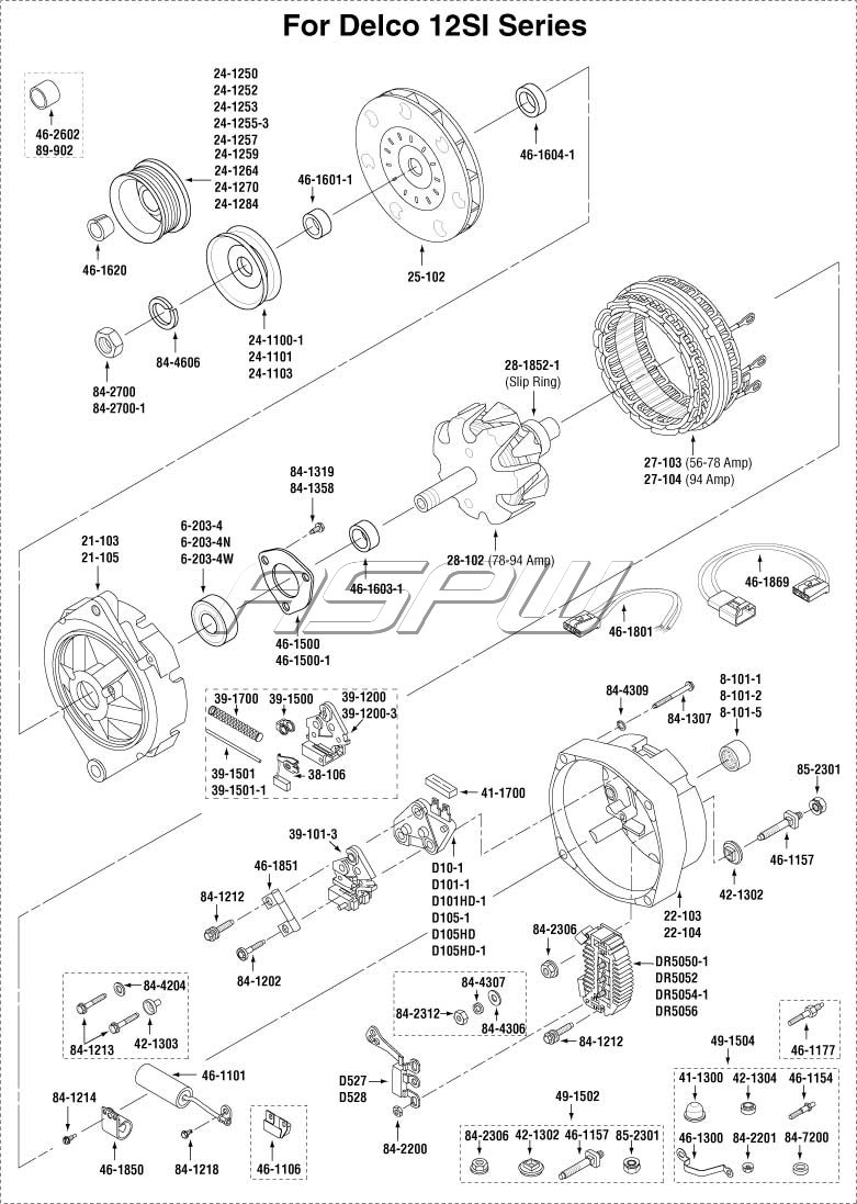 Modern 12si Alternator Wiring Diagram Pictures - Electrical Diagram ...